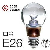 ビートソニック LED電球影美人「LDB26」クリア球 電球タイプ