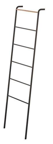 送料無料 山崎実業 ラダーハンガー タワー ブラック スリム YM-LADDER