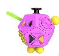 2019ホット!楽しいストレス解消のギフトを絞るフィデットキューブ2は、大人のデスクスピン玩具の不安とストレスを和らげる