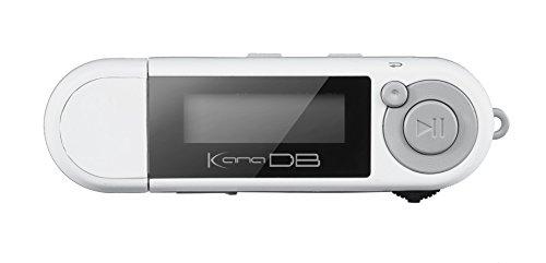 グリーンハウス kana DB 単4形アルカリ乾電池対応デジタルオーディオプレーヤー FMラジオ(ワイドFM対応) ボイスレコーダー機能搭載  8GB ホワイト GH-KANADB8-WH