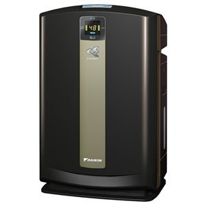 ダイキン PM2.5対応加湿空気清浄機(空清31畳まで/加湿18畳まで ビターブラウン)DAIKIN 加湿ストリーマ空気清浄機 MCK70P-T