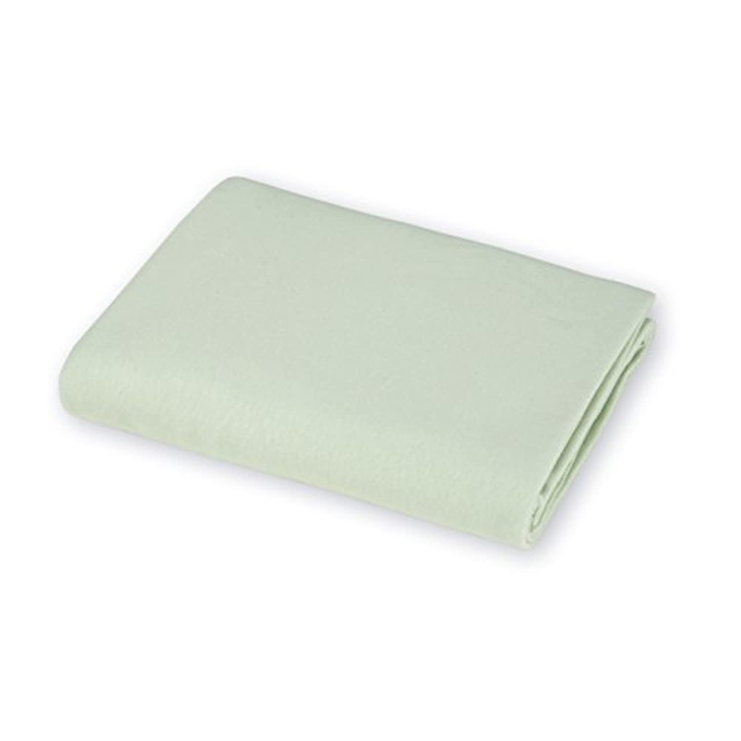 Crib & Toddler Poly/Cotton Sheets - Color: Mint - Flat by Baby Doll