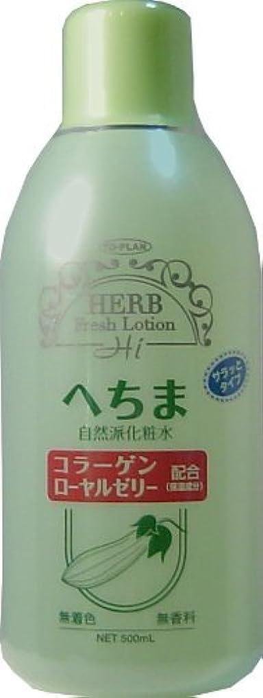 必要条件大胆プロフェッショナルトプラン へちま化粧水 500ml ×5個セット