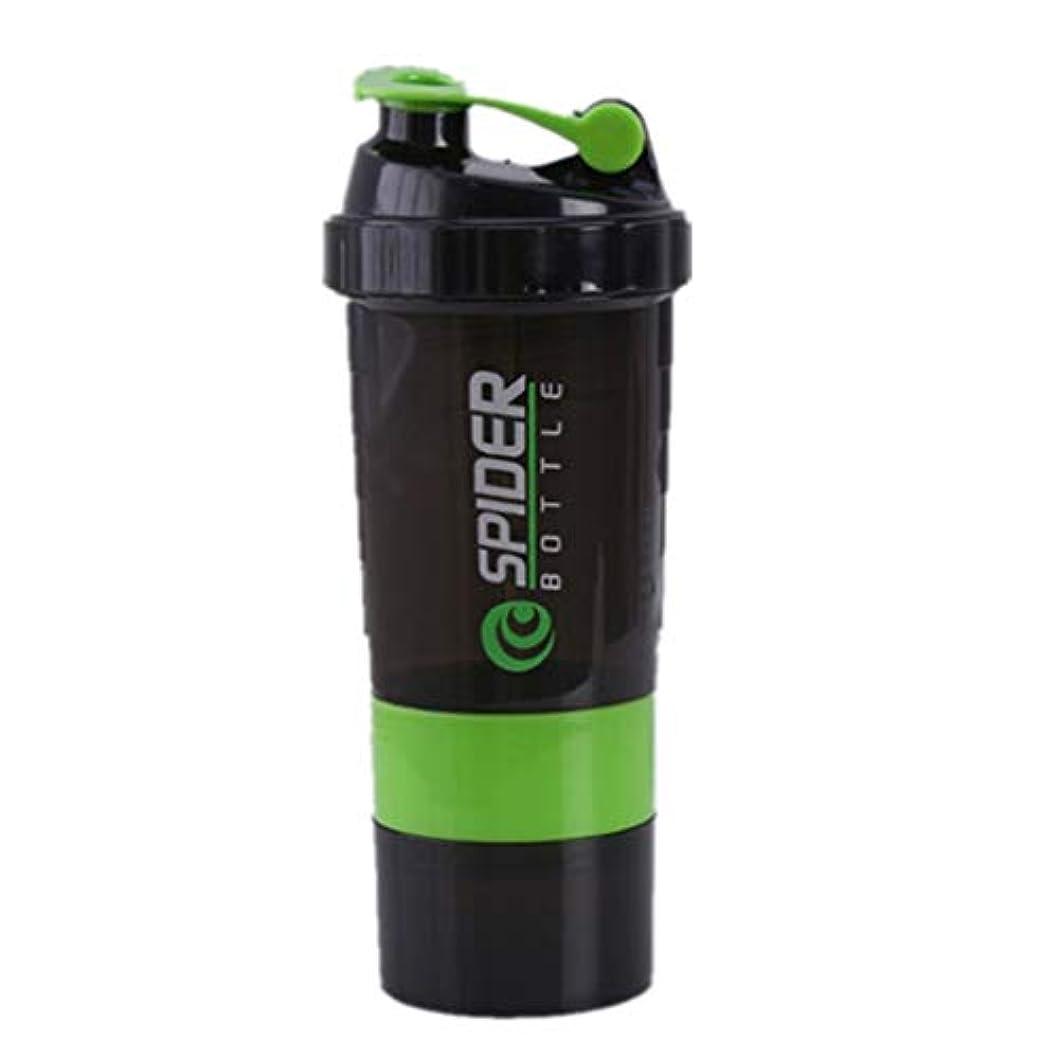 灌漑ゲートウェイコンドームuzinby ブレンダーボトル プロテインパウダー揺れ瓶 プロテインシェーカー 栄養補助瓶 スナップ式 500ml