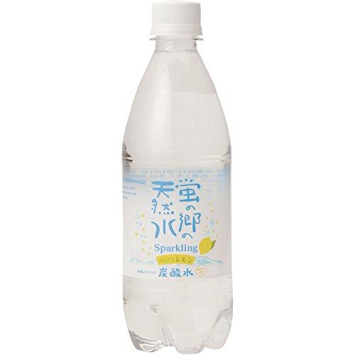 蛍の郷の天然水 ほんのりレモンスパークリング(500mL*24本入)