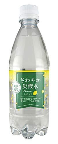 木村飲料 さわやか炭酸水レモン 500ml×24本