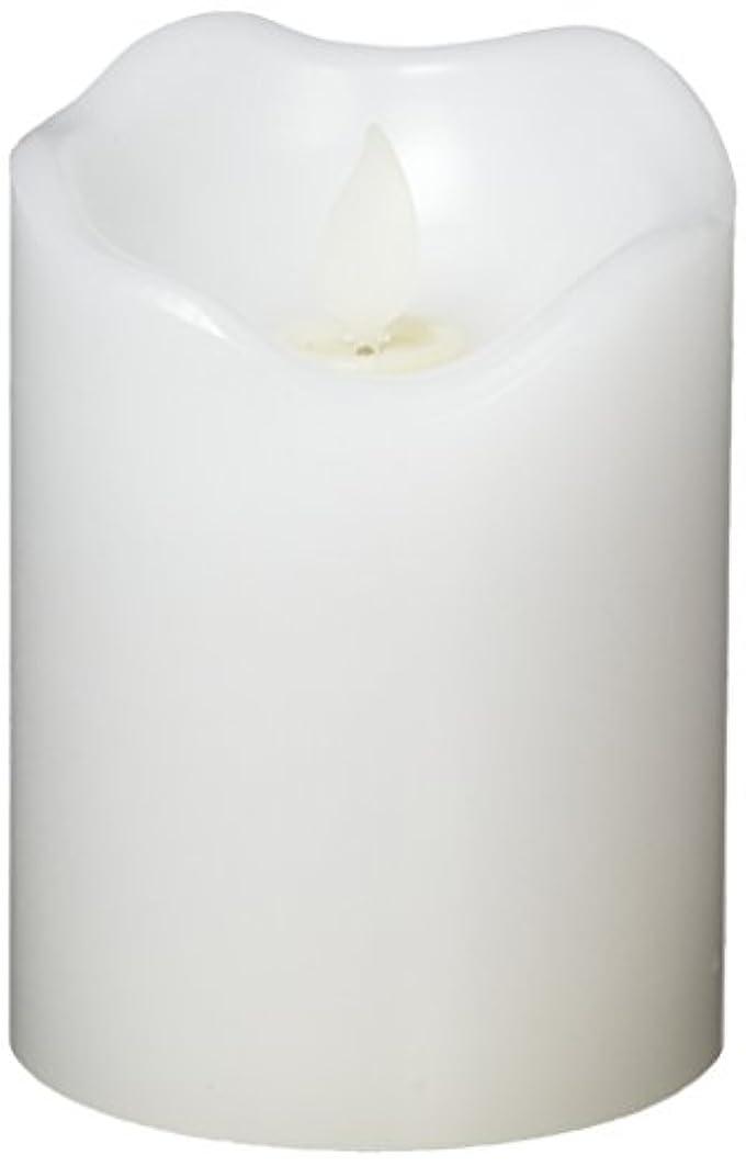 撃退するピストン賢い東京ローソク製造 リアルフレイム LED キャンドル スタンダード ホワイト 3×4 CL031