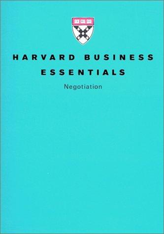 ハーバード・ビジネス・エッセンシャルズ〈5〉交渉力 (ハーバード・ビジネス・エッセンシャルズ 5)の詳細を見る