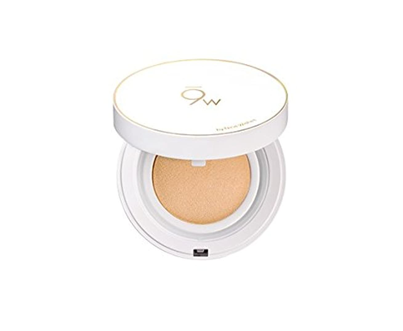 9WISHES (ナインウィッシュス) ライト フィット パーフェクト カバー クッション/Light Fit Perfect Cover Cushion (SPF 50+ PA++++) (#21) [並行輸入品]