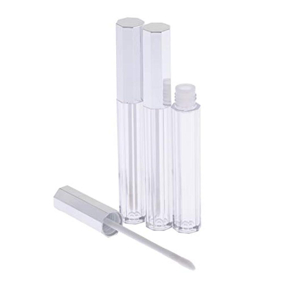 心のこもった食事を調理する宿題T TOOYFUL リップグロス 容器 チューブ 口紅 容器 空 プラスチック リップグロスボトル 5ml 3個セット