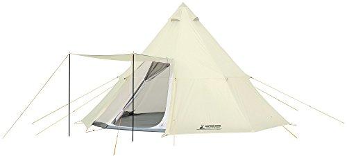 キャプテンスタッグ(CAPTAIN STAG) テント ワンポールテント オクタゴン ティピー型 7~8人用 【サイズ460×460×H300cm】 UV・PU加工 キャリーバッグ付き CSクラシックス UA-35