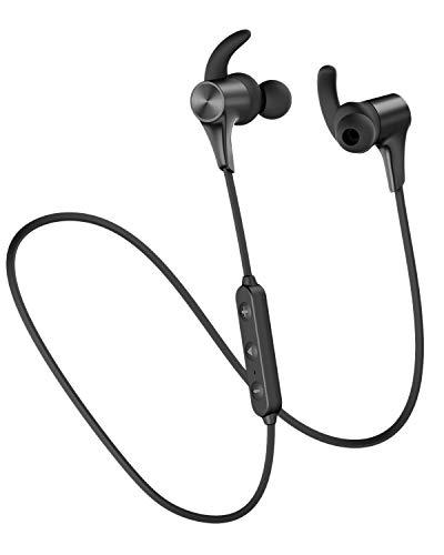 SoundPEATS(サウンドピーツ) Q12Pplus Bluetooth イヤホン Bluetooth5.0搭載 APT-XLLコーデック対応 高音質・低遅延 ブルートゥース イヤホン 10MMドライバー採用 9時間連続再生 IPX6防水 イヤホン マグネット内蔵 CVC8.0 ノイズキャンセリング搭載