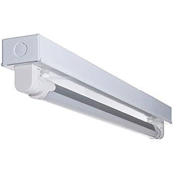 LED蛍光灯20W形 トラフ20W形器具1灯式 ベースライト 蛍光管 (GT-SETRGD-10W58CW-Z1) 昼光色 G13 照明器具セット 天井 蛍光灯器具 LEDライト シーリングライト 施設用 PL保険加入 LED