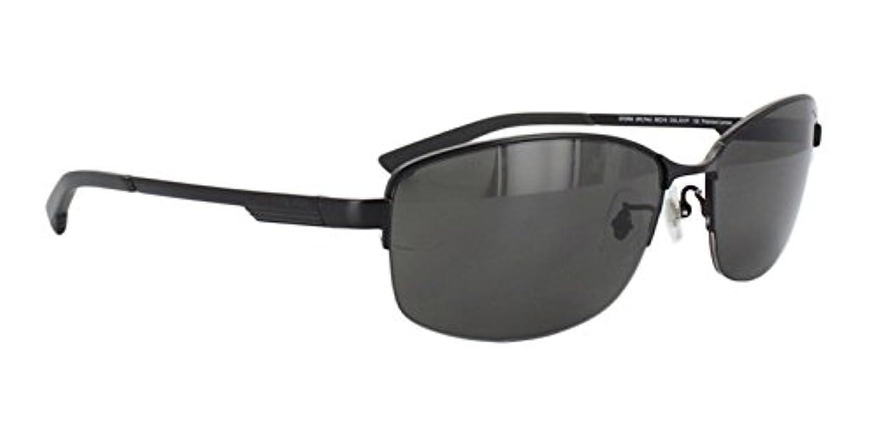 フルート対称途方もないポリス 偏光サングラス POLICE メンズ SPL744J 531P ハーフリム ジャパンモデル 釣り ドライブ 国内正規品 チタン UVカット