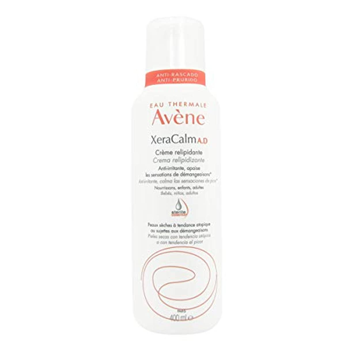 件名症候群縁石Avene Xeracalm Ad Replenishing Cream 400ml [並行輸入品]
