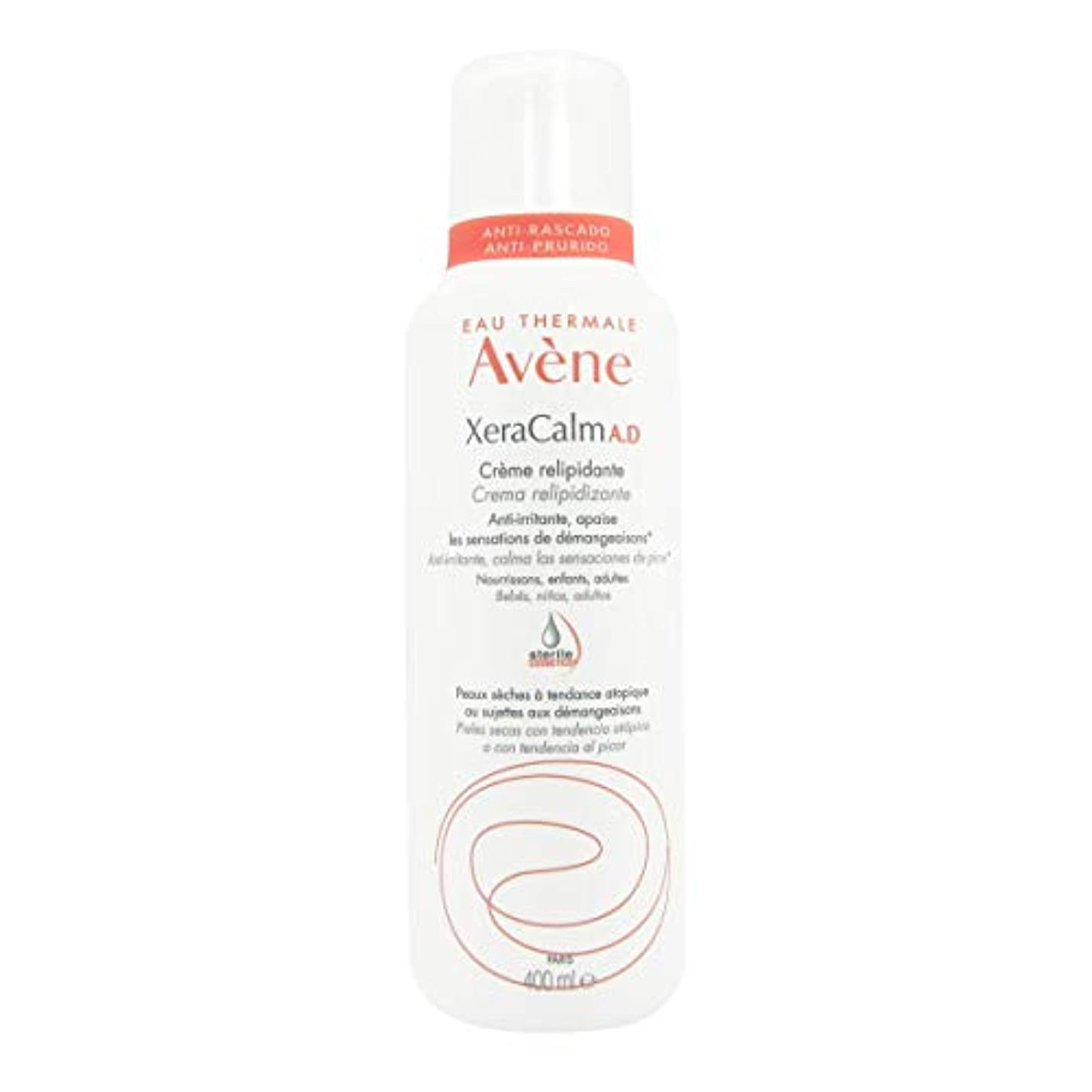 バーターコカイン旅行Avene Xeracalm Ad Replenishing Cream 400ml [並行輸入品]