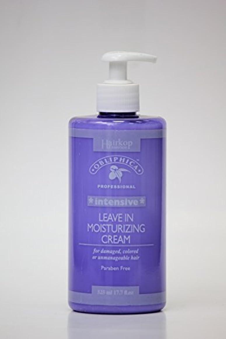 維持憂慮すべきまばたきObliphica - モイスチャライジングクリームインテンシブリーブ(ダメージヘア、カラーヘア、または手に負えない髪用)525ml / 17.7oz