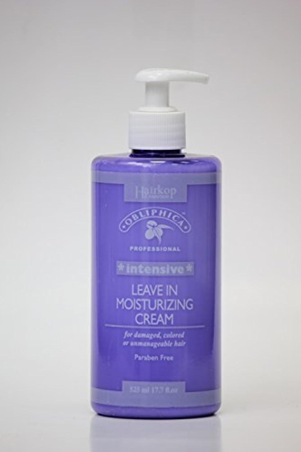 Obliphica - モイスチャライジングクリームインテンシブリーブ(ダメージヘア、カラーヘア、または手に負えない髪用)525ml / 17.7oz