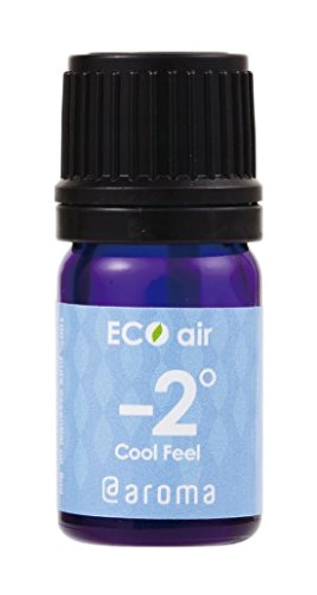 召集する誘惑する一般的にEco air Cool Feel Aroma 5ml