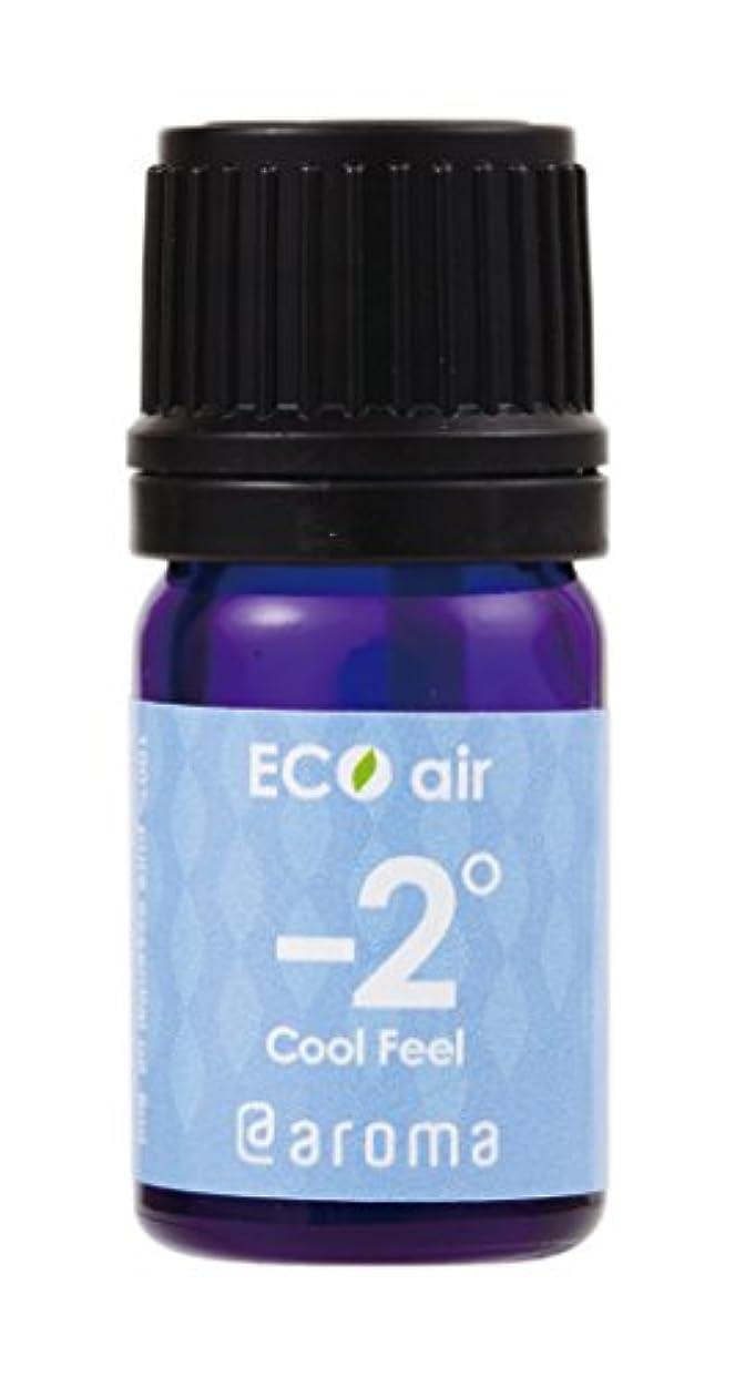 拘束ドール逃れるEco air Cool Feel Aroma 5ml