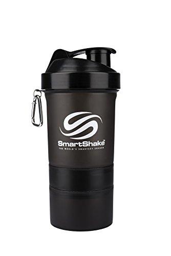 SmartShake(スマートシェイク) プロテインシェイカー SmartShake Black kss0007