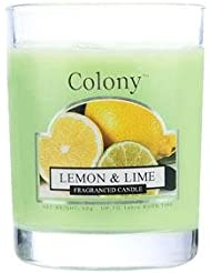 WAX LYRICAL ENGLAND Colony HomeScents Series ミニワックスキャンドル レモン&ライム CNCH3668