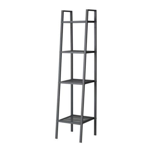 IKEA(イケア) LERBERG シェルフユニット, ダークグレー (20186399)
