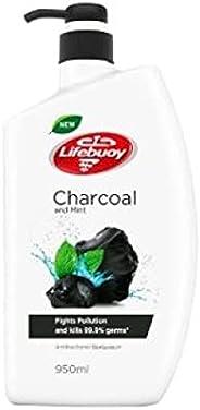 Lifebuoy Anti-Bacterial Body Wash, Charcoal, 950ml