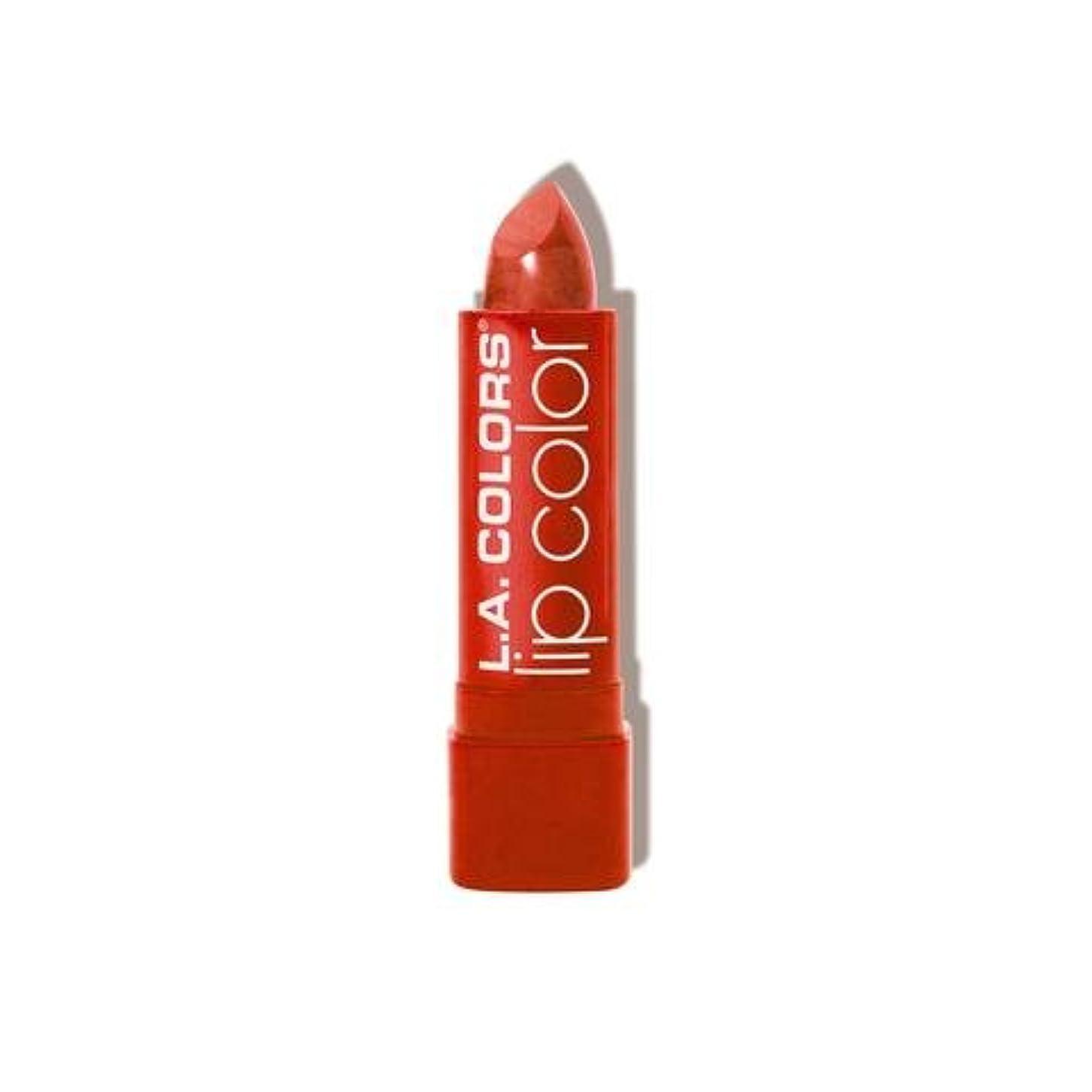 プログラム完璧なリップ(6 Pack) L.A. COLORS Moisture Rich Lip Color - Tropical (並行輸入品)