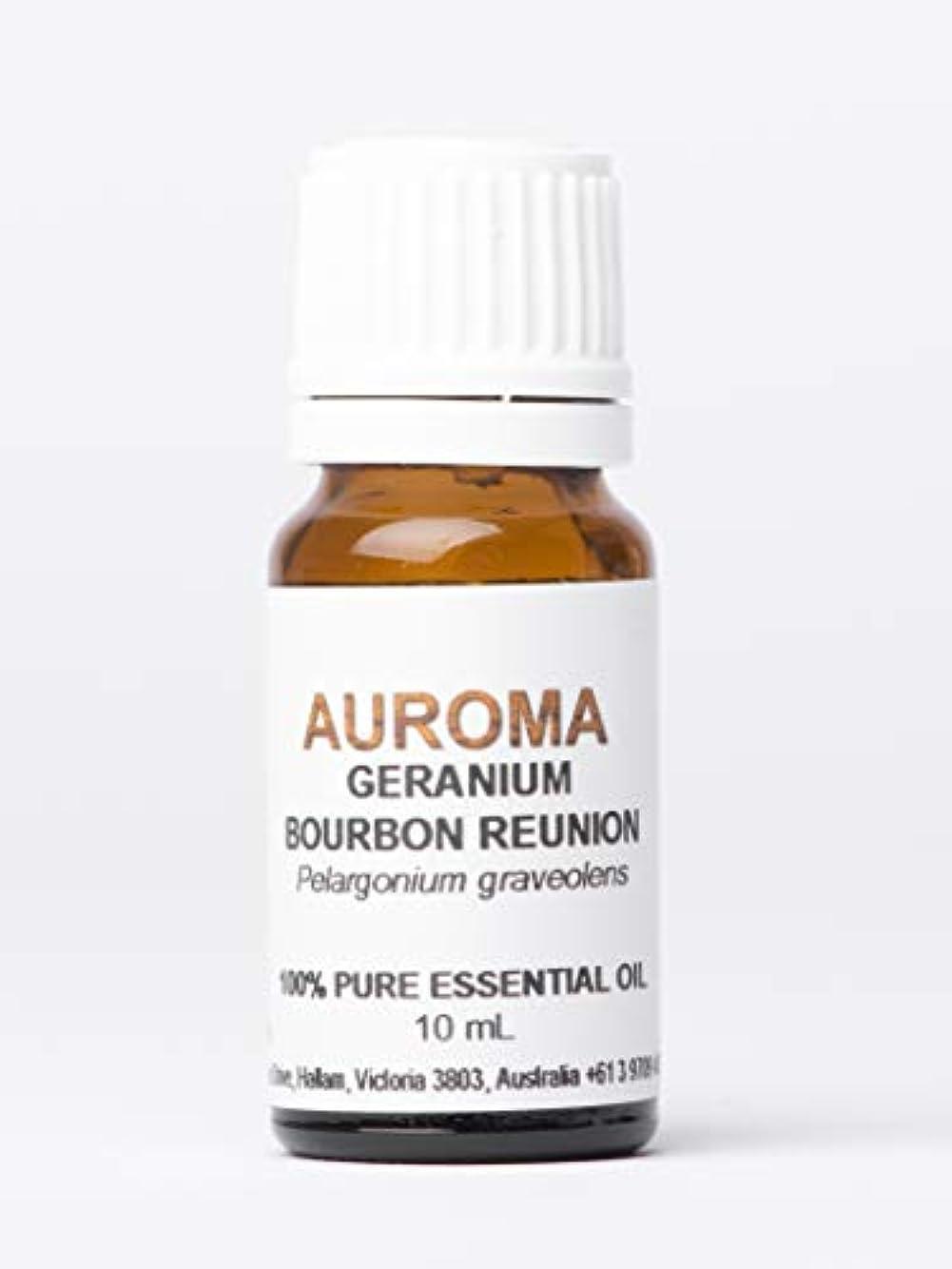 しかしながらバーチャル拮抗AUROMA ゼラニウム ブルボン 10ml