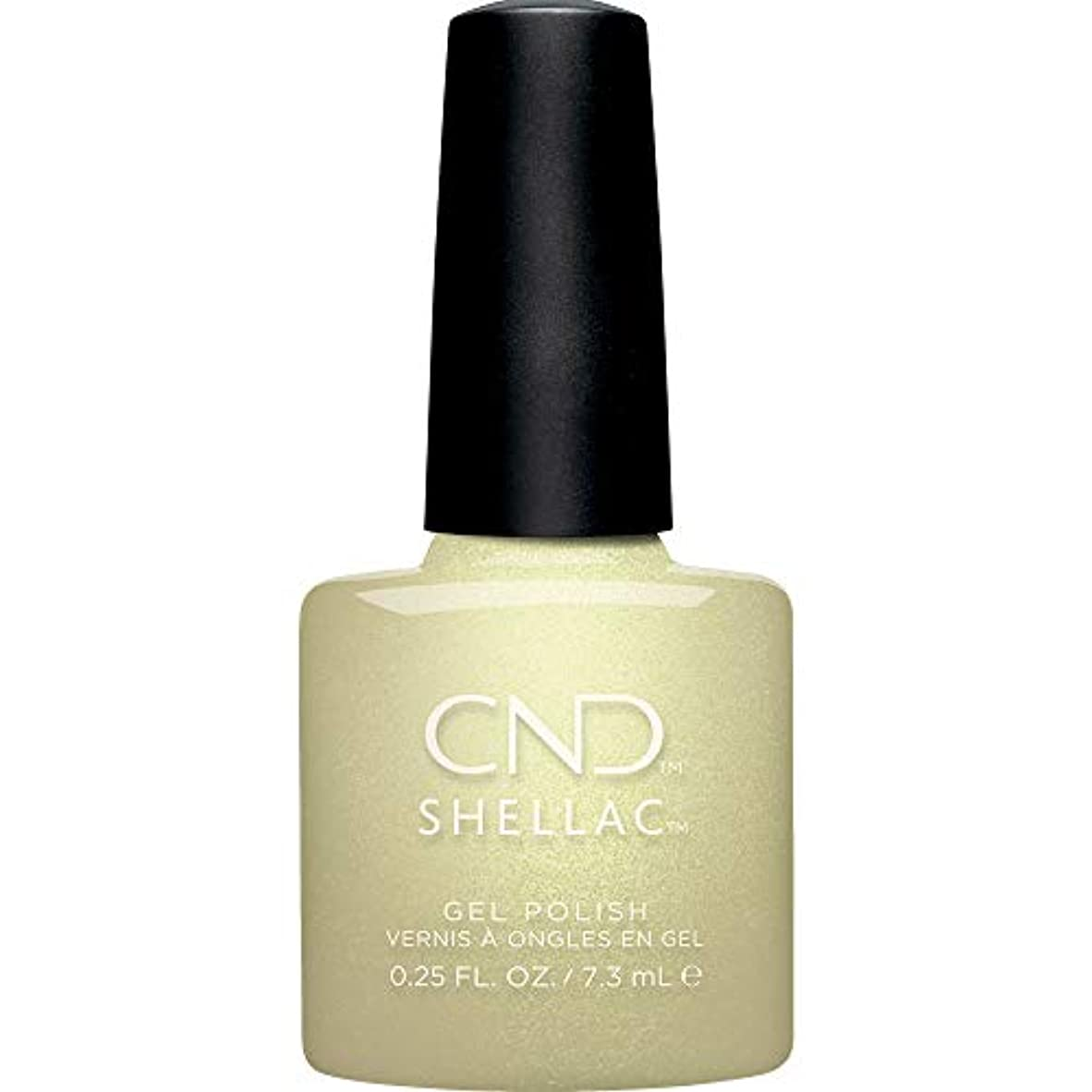 失望火山の配管CND Shellac - Crystal Alchemy Winter 2019 Collection - Divine Diamond - 0.25oz / 7.3ml
