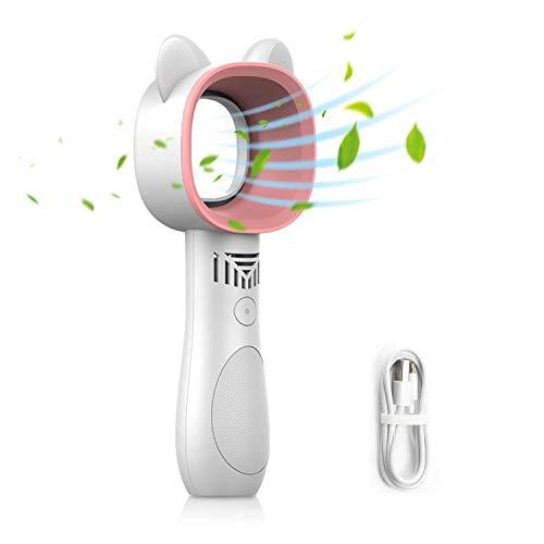 LYXOTO はねなし扇風機 ハンディミニ扇風機 携帯扇風機 ハンディ 羽根なし 手持ち 充電式 ハンディファン U...