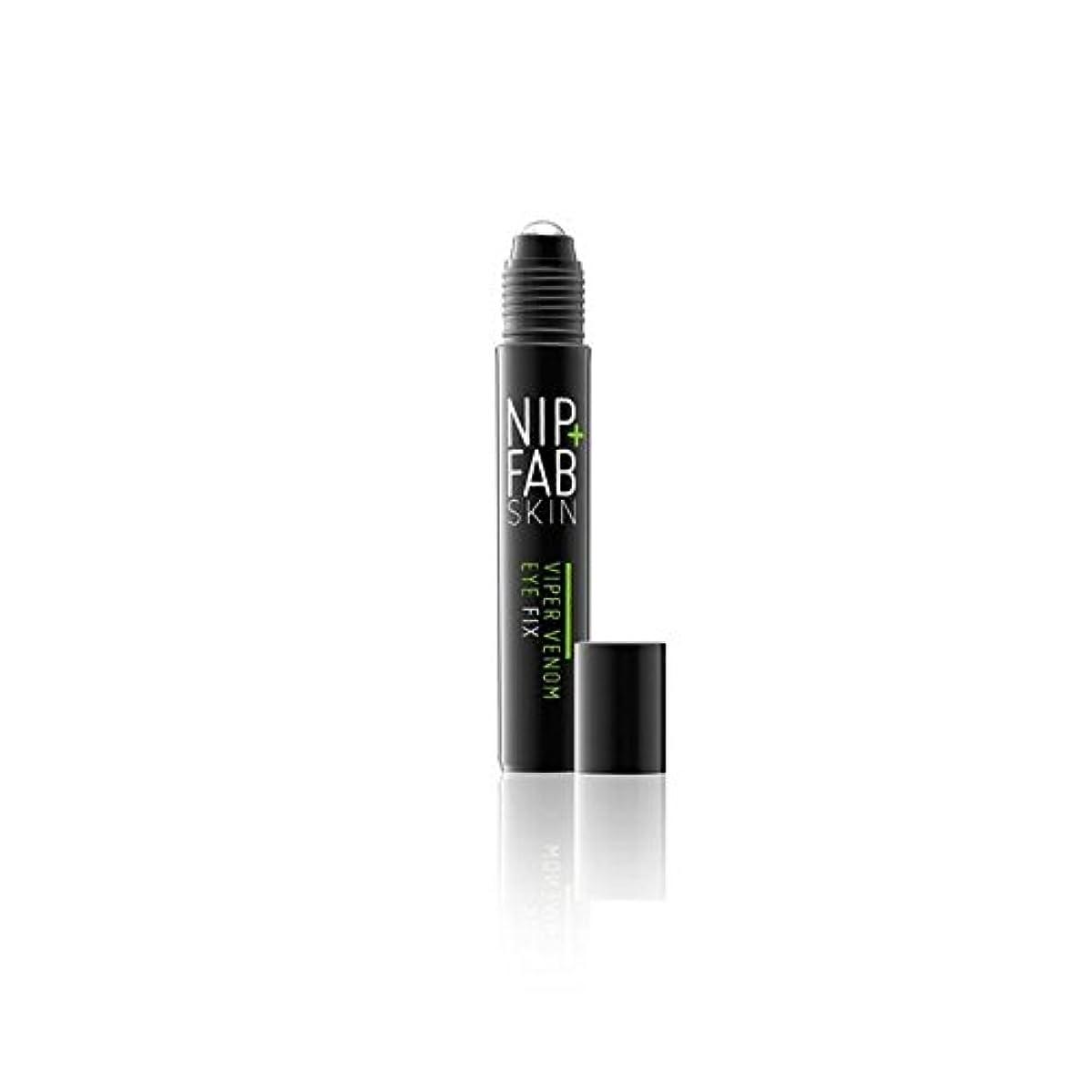 未使用化学者ハブNip+Fab Viper Venom Eye 15ml (Pack of 6) - + 蛇毒目の15ミリリットルニップ x6 [並行輸入品]