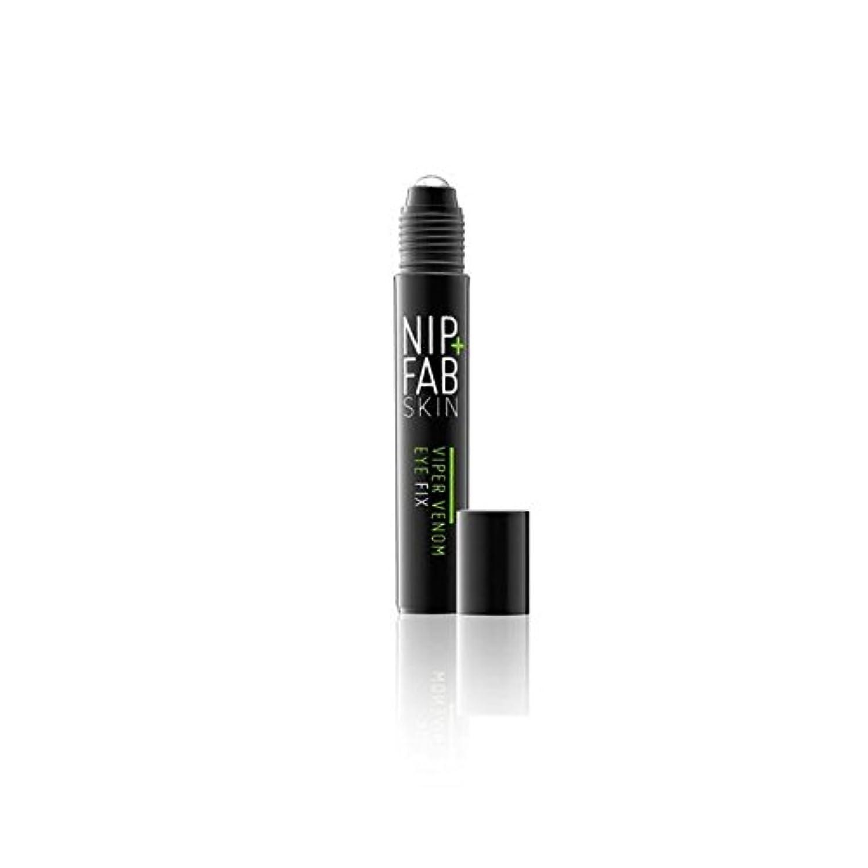 北ペンフレンドまでNip+Fab Viper Venom Eye 15ml (Pack of 6) - + 蛇毒目の15ミリリットルニップ x6 [並行輸入品]