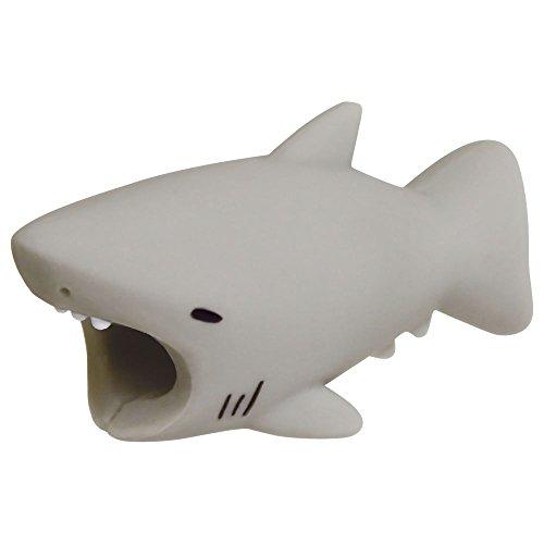 ケーブルバイト サメ グレー