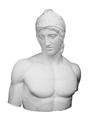 石膏像 K-123 ボルゲーゼのマルス胸像 H.76cm