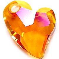スワロフスキーエレメント#6261 17mm・クリスタルアストラルピンク Devoted 2 U heart(ディヴォーテドトゥユーハート・クリスタライズビーズ)