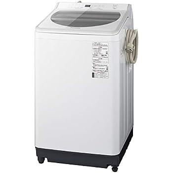 パナソニック 9kg 全自動洗濯機 泡洗浄・パワフル立体水流 ホワイト NA-FA90H7-W
