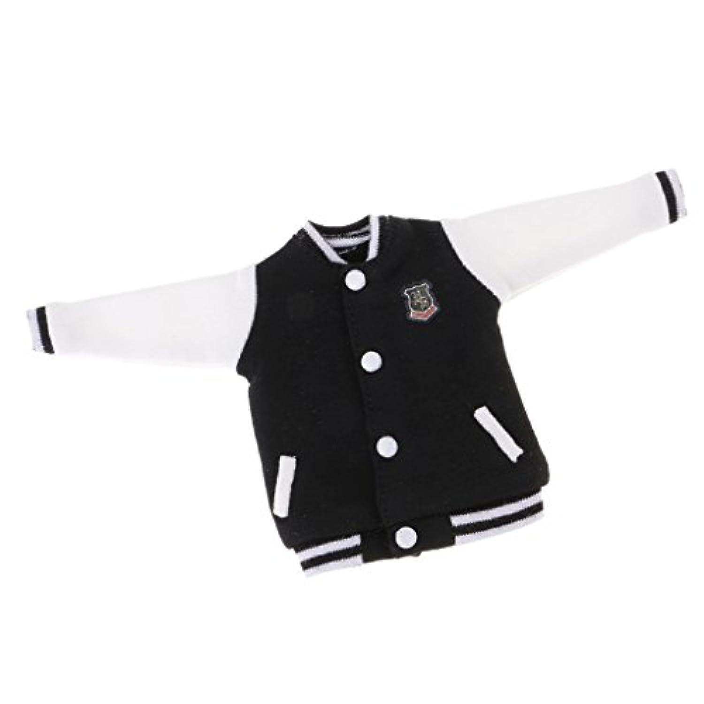 Lovoski  人形用 スポーツ服 野球 ユニフォーム 12インチブライスドール適用 装飾