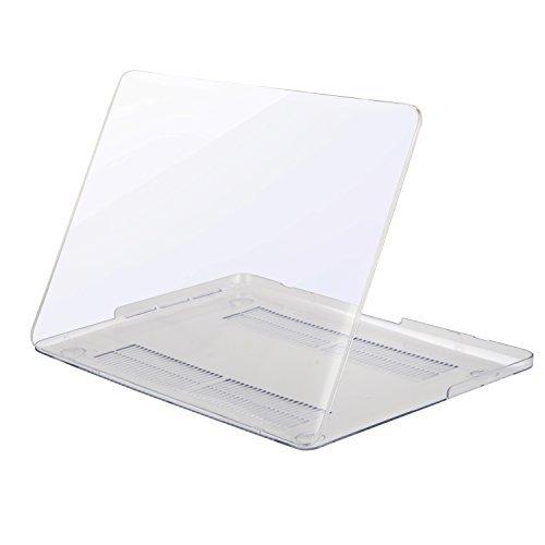 Mosiso - MacBook Pro Retina ディスプレイ 13インチ 薄型 耐衝撃 保護 ハードケース シェルカバー (対応モデル:2015 / 2014 / 2013 / 2012[A1425 / A1502] 光学ドライブ無し) (クリア)
