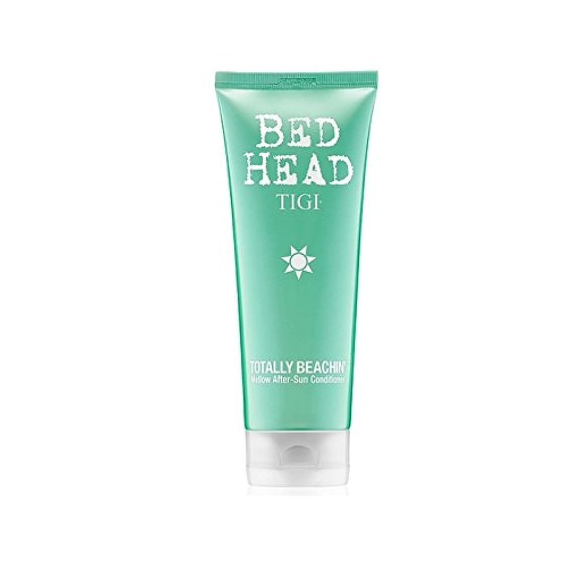 相手極端な日常的にTigi Bed Head Totally Beachin Mellow After-Sun Conditioner (200ml) (Pack of 6) - ティジーベッドヘッド全くまろやかアフターサンコンディショナー...