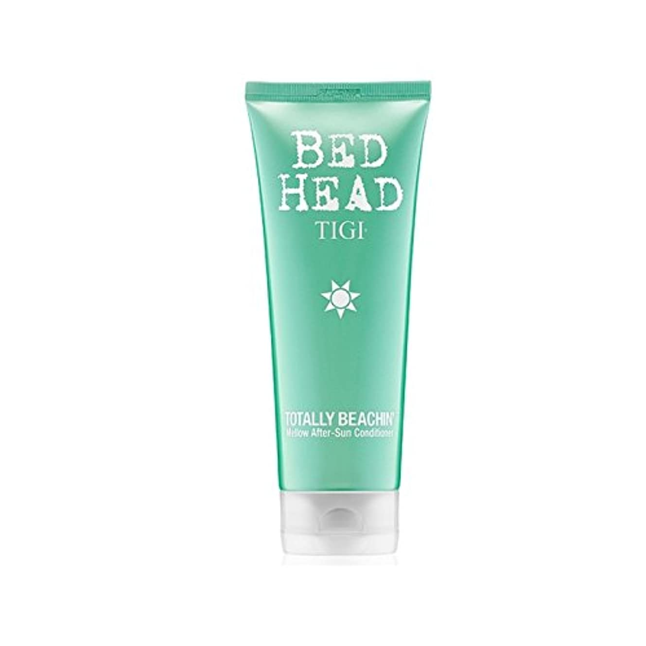 代理人スクラッチ湖ティジーベッドヘッド全くまろやかアフターサンコンディショナー(200ミリリットル) x4 - Tigi Bed Head Totally Beachin Mellow After-Sun Conditioner (200ml...