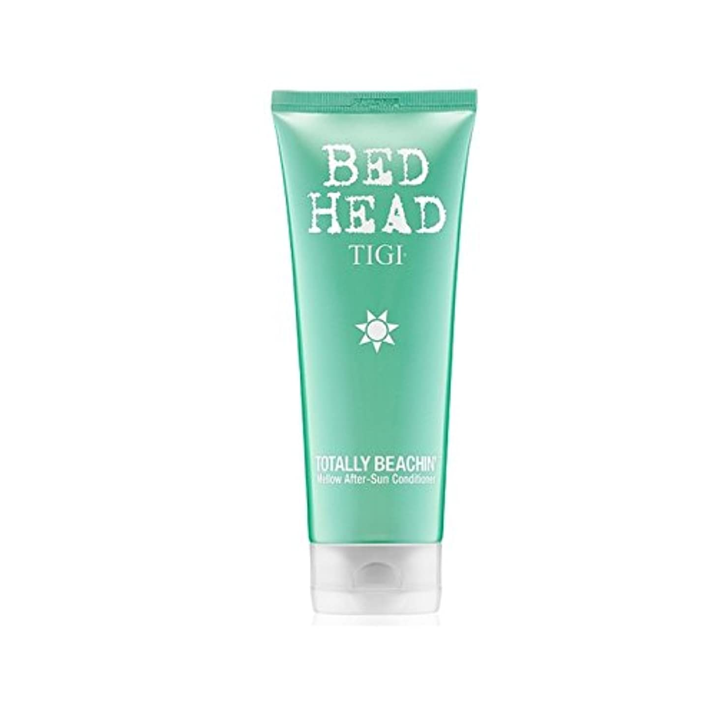 友情パースブラックボロウ加速するTigi Bed Head Totally Beachin Mellow After-Sun Conditioner (200ml) - ティジーベッドヘッド全くまろやかアフターサンコンディショナー(200ミリリットル)...