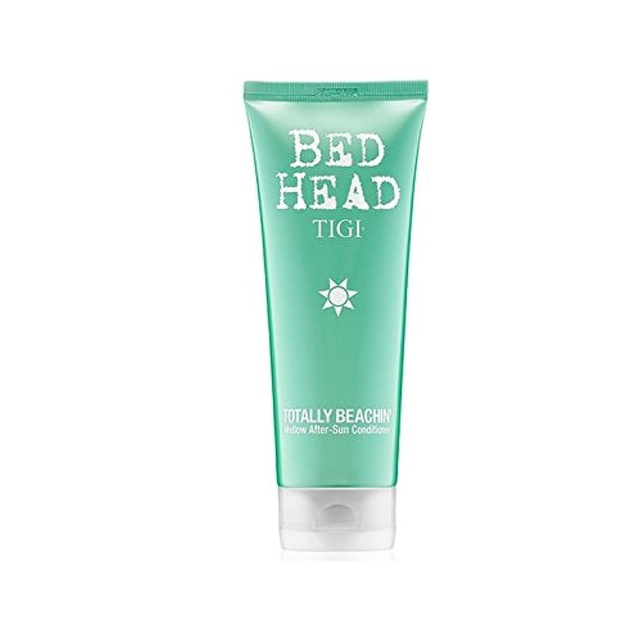 ティジーベッドヘッド全くまろやかアフターサンコンディショナー(200ミリリットル) x4 - Tigi Bed Head Totally Beachin Mellow After-Sun Conditioner (200ml...