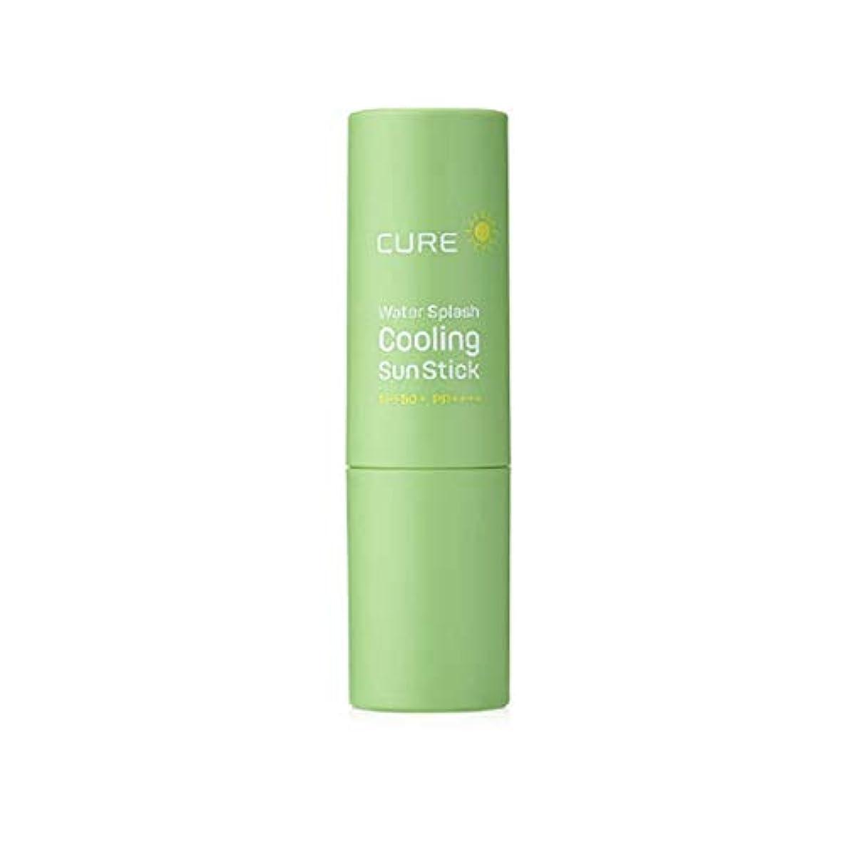飽和する接辞ありがたい[KIMJUNGMOON ALOE] キムジョンムンアロエ Cure Water Splash Coolling Sun Stick 11gキュアウォータースプラッシュクーリングスティックSPF50+/PA++++ 42% Aloe Vera Juice Korean Skincare #1118 アロエ汁日焼け止め