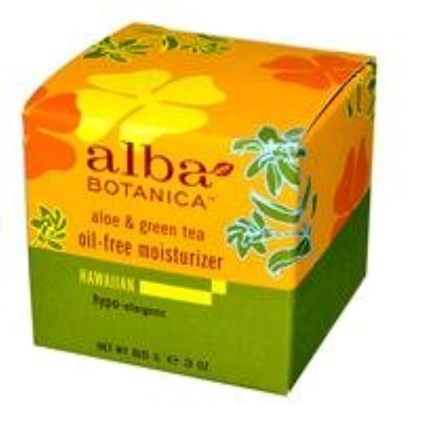 浴室適応する石鹸[海外直送品] アルバボタニカ アロエ&グリーンティー オイルフリー モイスチャライザー 85g