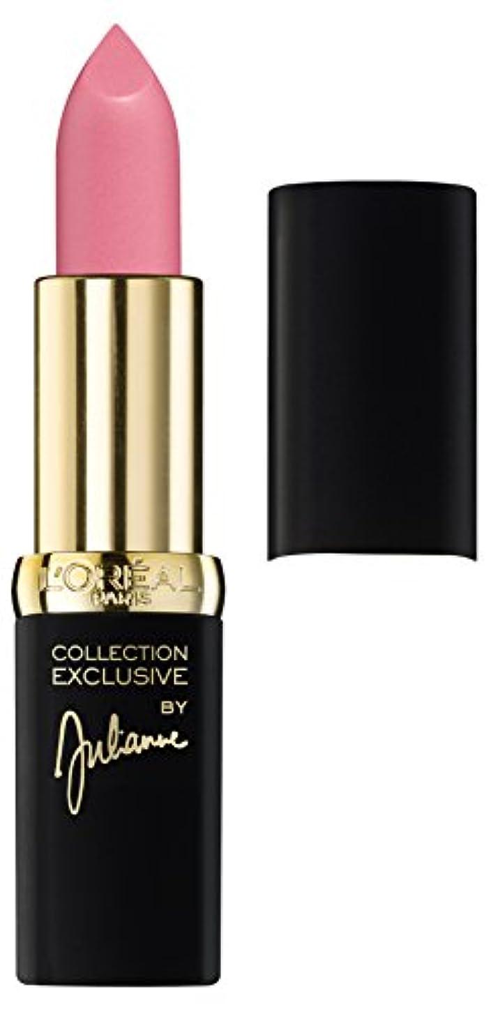 北東危険な研磨剤Loreal Collection Exclusive By Julianne Color Riche Lipstick CP 22