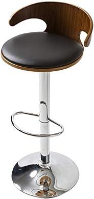 システムK Counter Chair, Rotation, Rising Bar Chair, Dining Room, Kitchen, Wooden Chair, Black