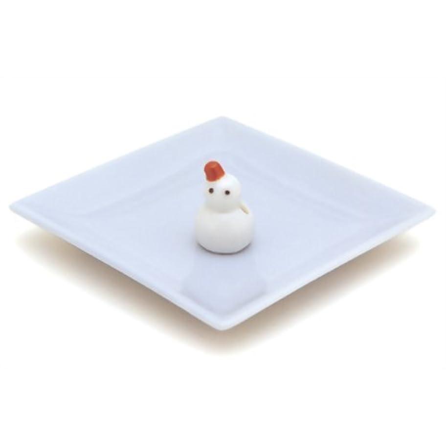 コンチネンタル正当な交換陶器香皿&雪ダルマ香立