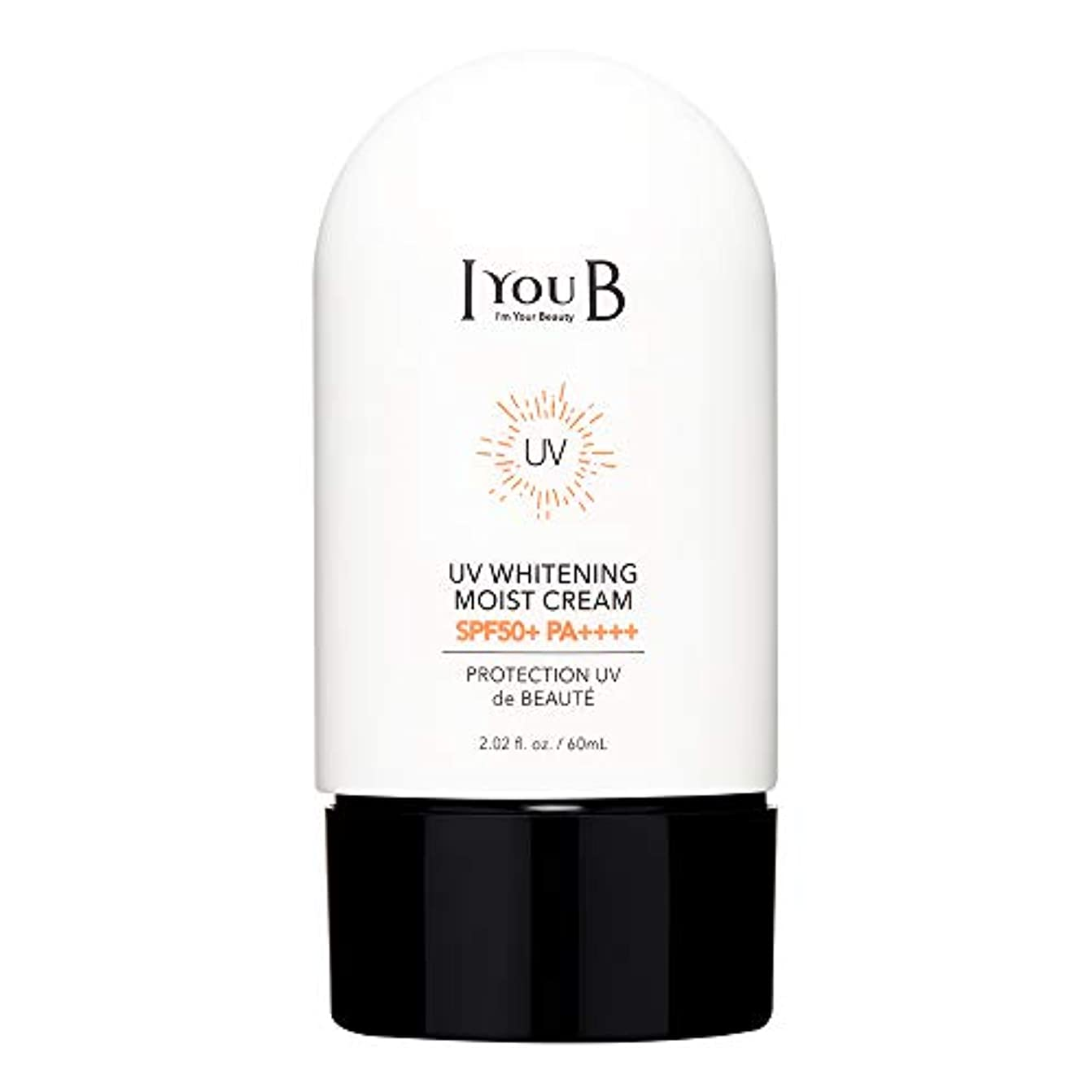 ふさわしい無秩序人に関する限り[アイユビ]UVホワイトニングモイストクリーム 50+ PA++++60ml/2oz,[IYOUB] UV Whitening Moist Cream SPF 50+ PA++++60ml/2oz